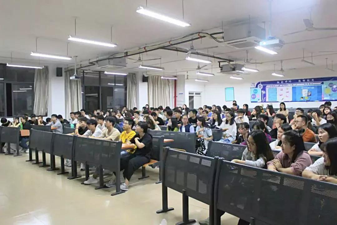 中软国际厦门ETC走进福州外语外贸学院进行专题讲座